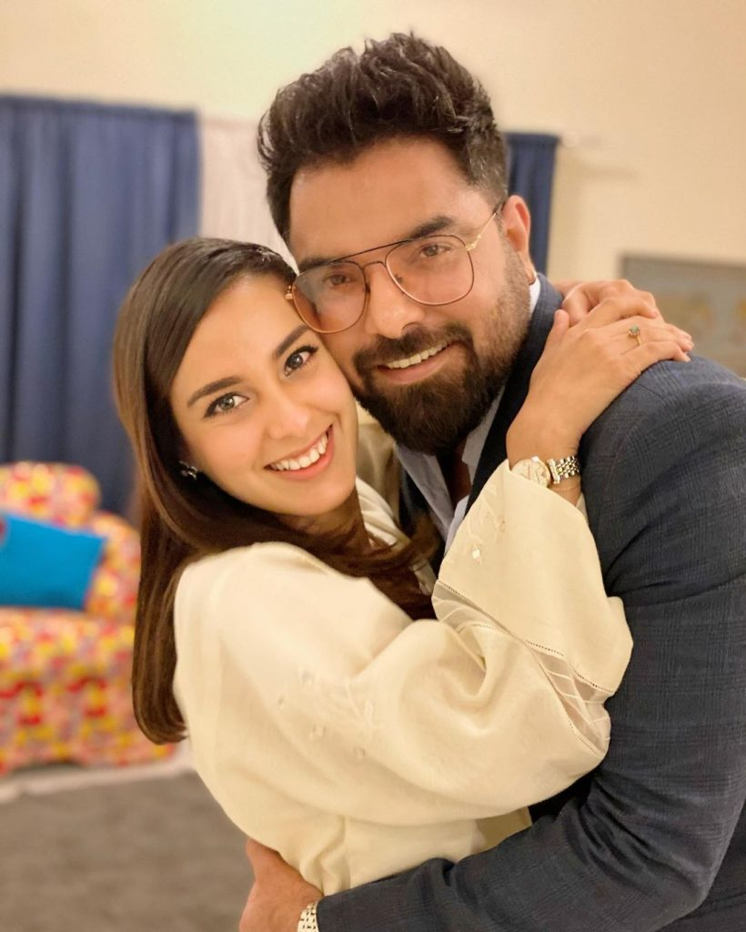 Yasir Hussain Is Proud Of Iqra Aziz