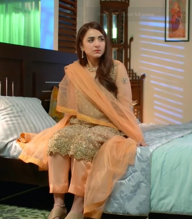 10 Beautiful Dresses Worn By Yumna Zaidi In Raaz e Ulfat