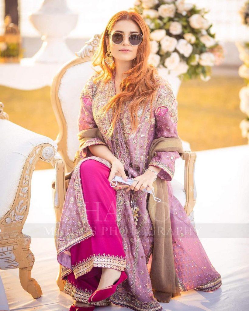 Aima Baig Sister Komal Baig Wedding Pictures