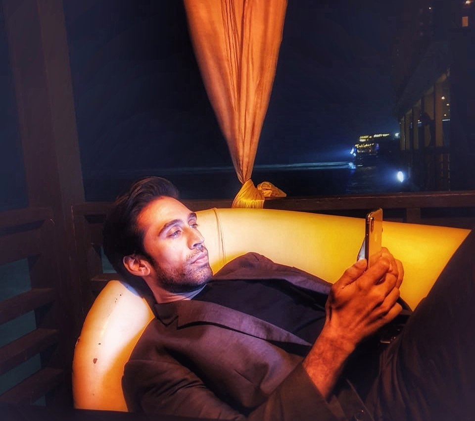 Coolest Pictures of Ali Rehman in Suits