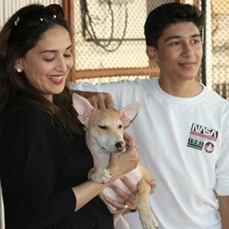 Madhuri Dixit Son | 10 Lovely Pictures