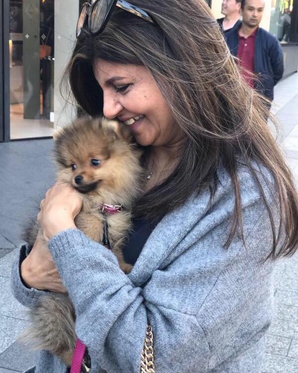 Lovely Pet Dog of Minna Tariq and Rubina Ashraf