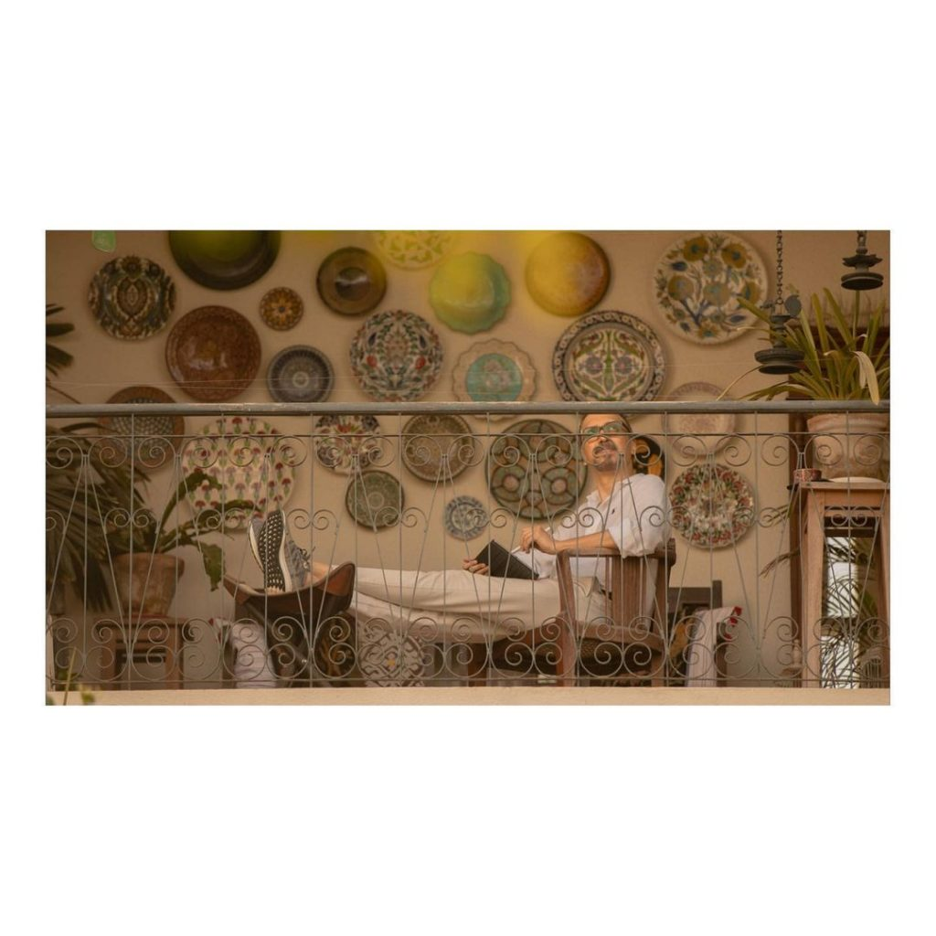 Rare Sight of the Interiors of Asim Raza's House