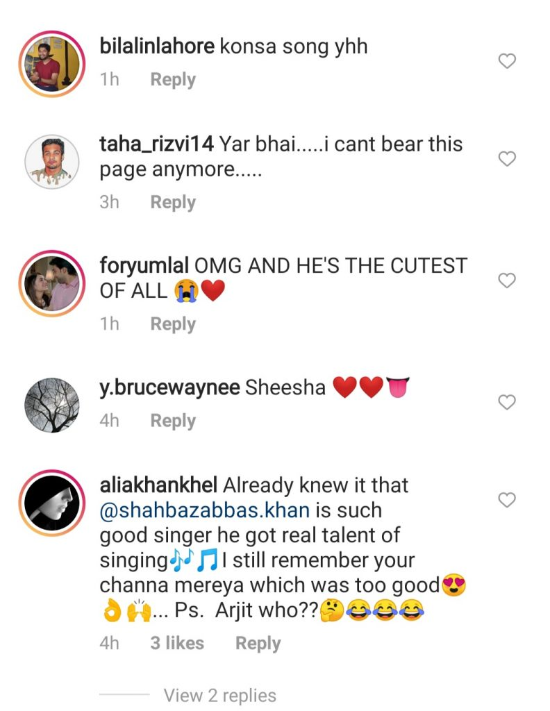 Bilal Abbas Khan's Brother Singing - Public Reaction