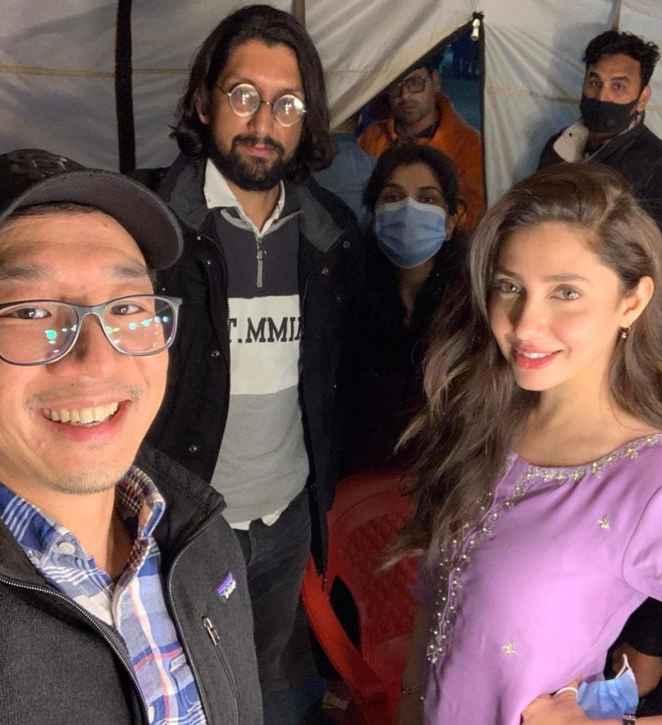 BTS Pictures From The Set Of Neelofar