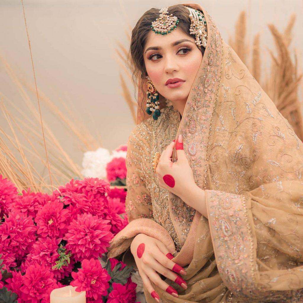 Latest Bridal Shoot Featuring The Gorgeous Dur-e-Fishan