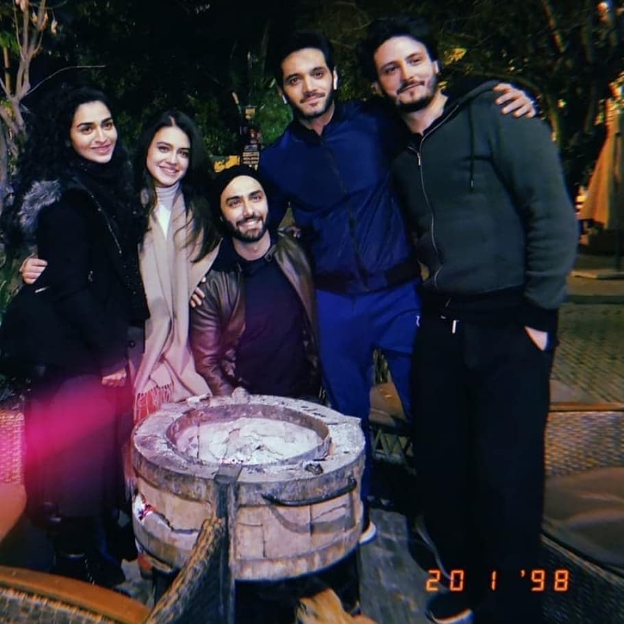 Hajra Yamin Shares Some Fun Moments From The Set Of Ehd-e-Wafa