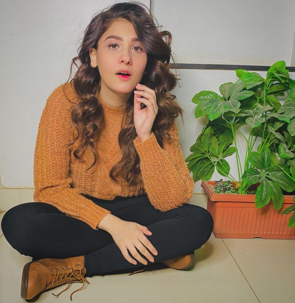 Latest Pictures of Hina Agha At Her Home