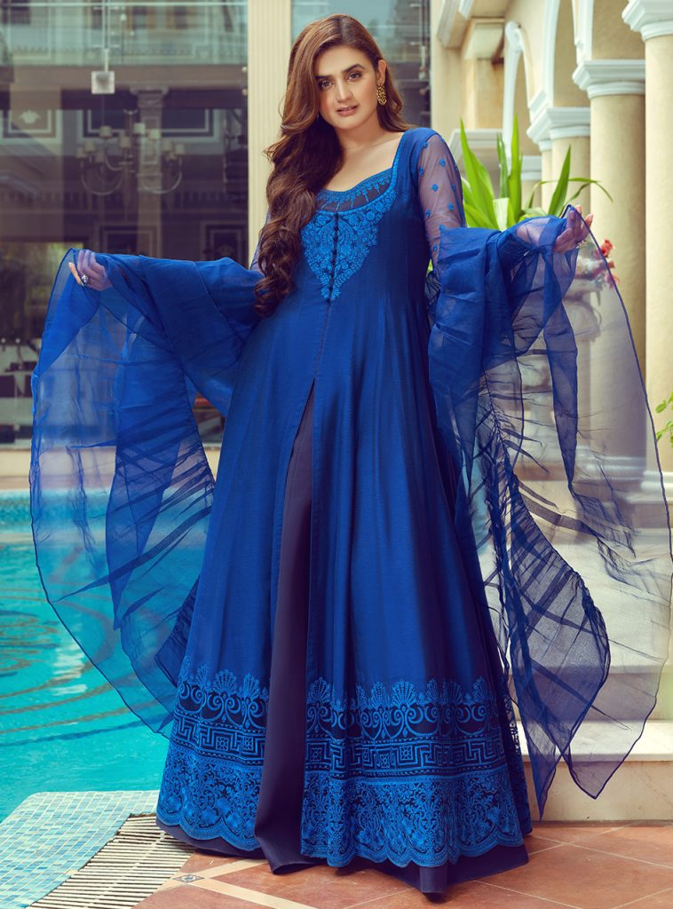 Zainab Chottani Luxury Pret Collection Featuring Hira Mani