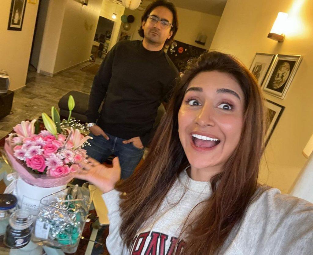 Hira Tareen And Ali Safina Celebrates Their Seventh Wedding Anniversary