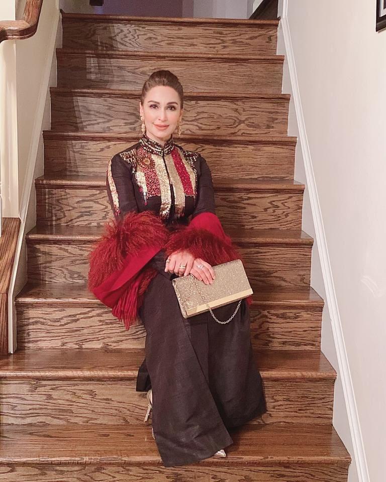 Latest Trendy Eastern Dresses of Reema Khan