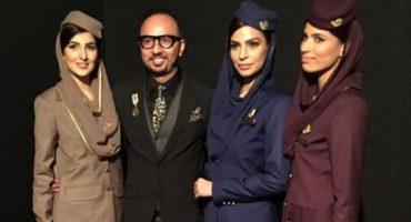 Nomi Ansari to design uniform for new private airline.