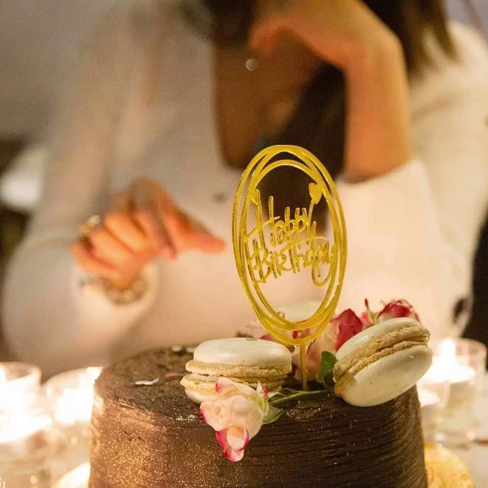 Iman Ali Celebrating Her Husband's Birthday