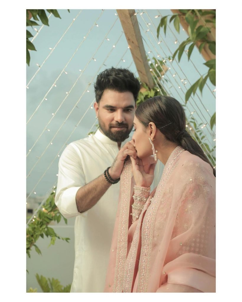 Iqra Aziz Pens A Heartfelt Note To Her Husband On Their First Wedding Anniversary