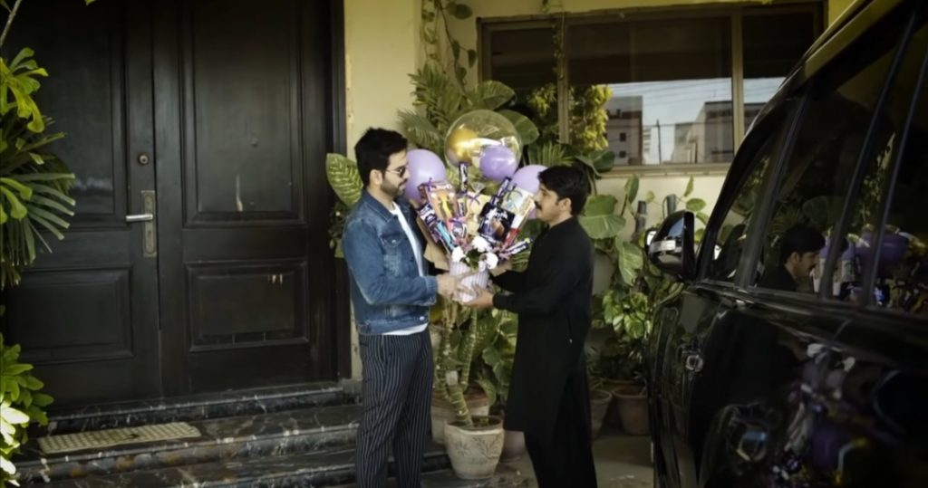 Juanid Khan Shared A Little Token Of Love With His Domestic Staff
