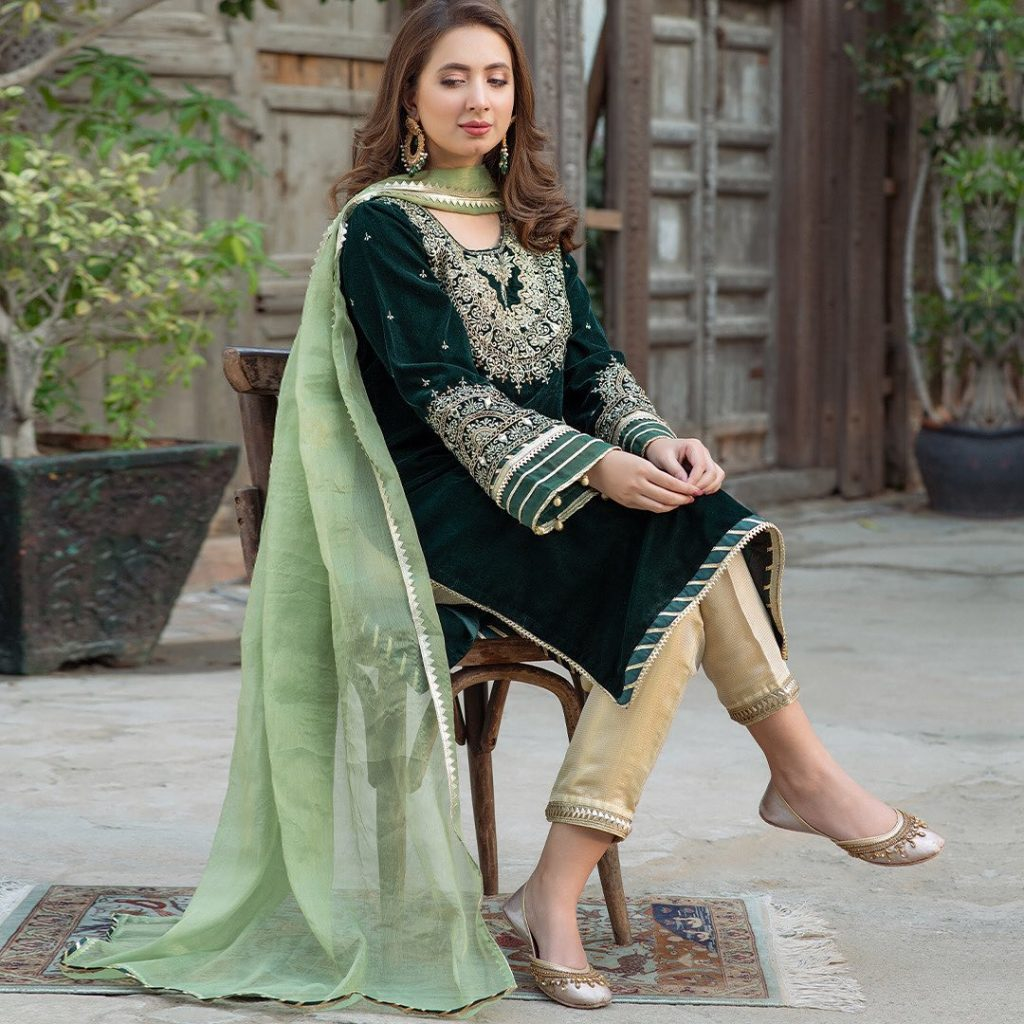 Latest Collection Of Omal By Komal Aziz Khan