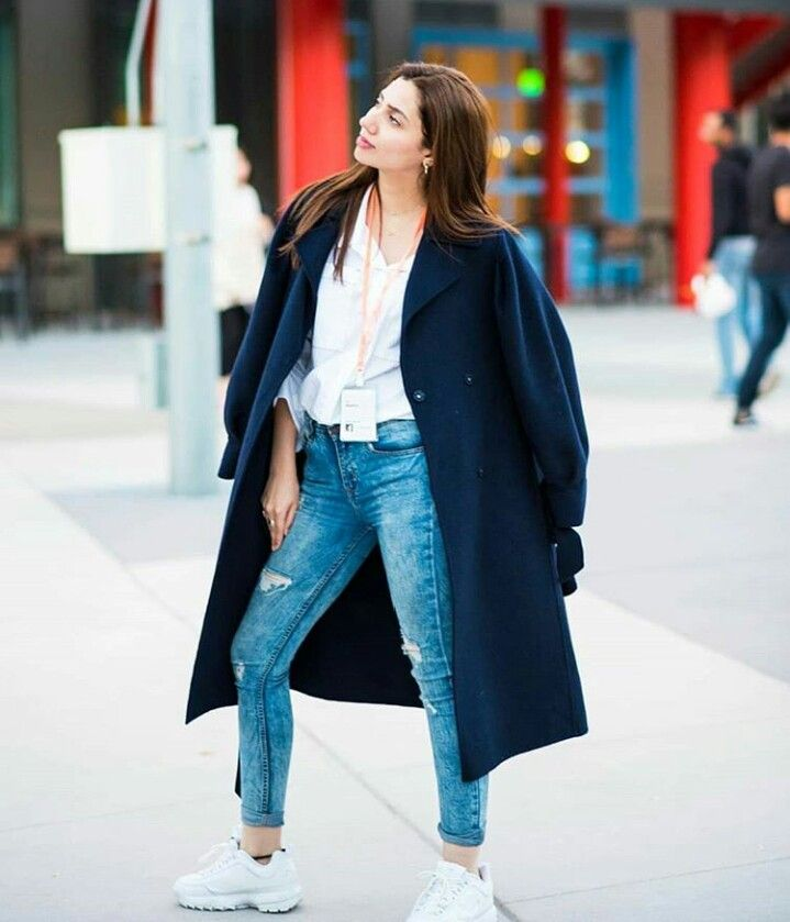 Eight Of Our Favorite Coats From Mahira Khans Winter Wardrobe