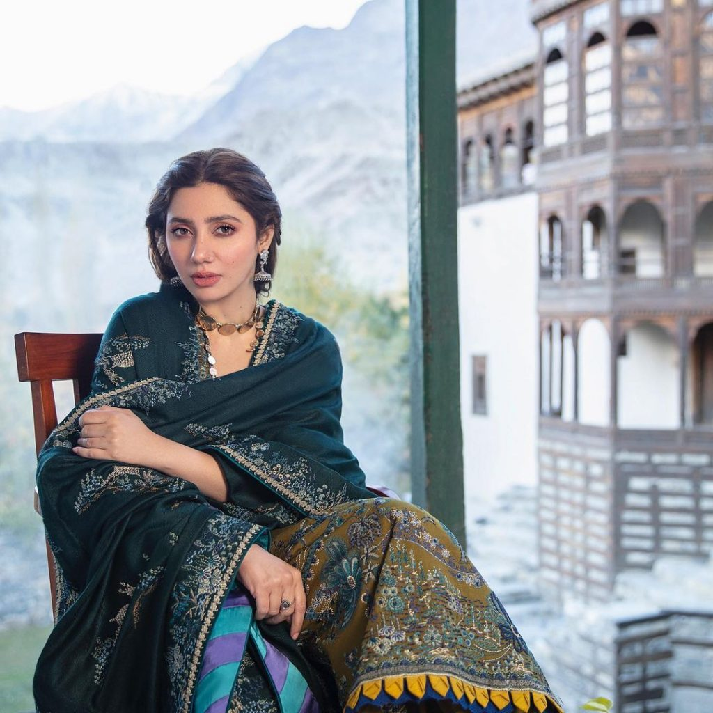 Mahira Khan's Heartfelt Note For Marina Khan