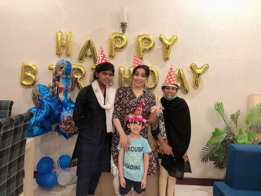Unseen Family Photos of Maira Khan
