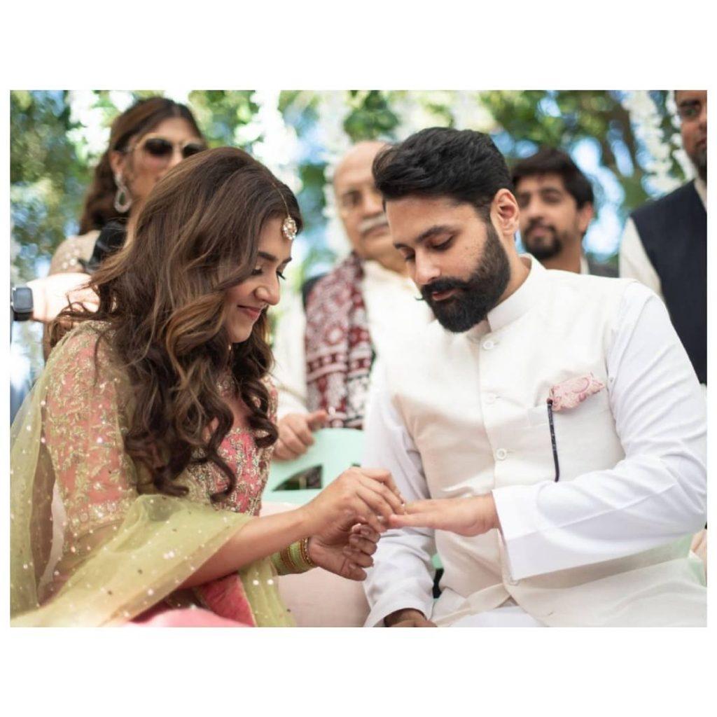 Jibran Nasir Threw A Surprise Anniversary For Mansha Pasha