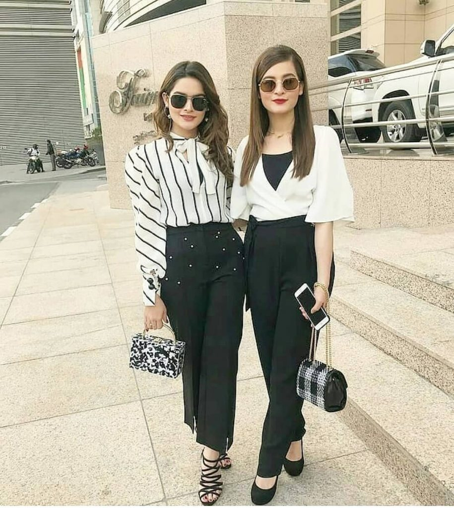 30 Photos of Minal and Aiman Wearing Matching Clothes Together