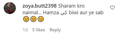 Public Reaction On Naimal Khawar's Latest Dance Video