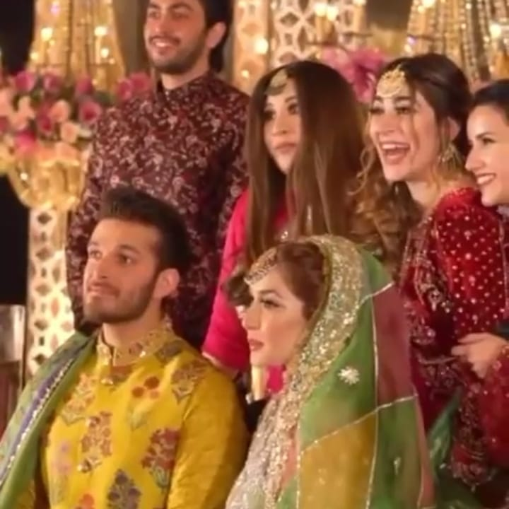 Exclusive Pictures From Mehndi Event Of Naimal Khawar's Sister