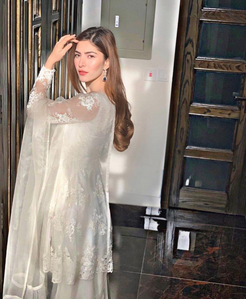 Gorgeous Long Maxis of Naimal Khawar