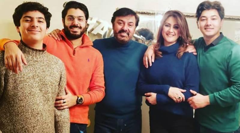 Birthday Celebrations Of Nauman Ijaz's Son Shahmeer
