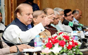 Nawaz scolds worker for interrupting his speech with Tea