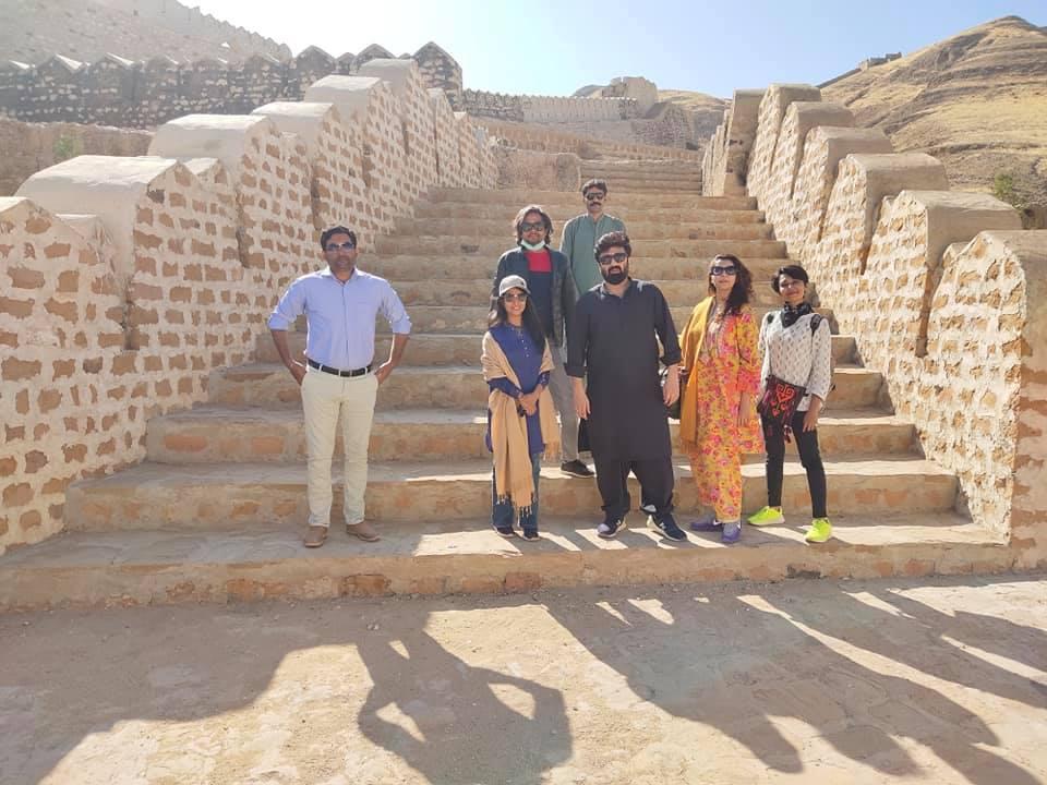 Nida Yasir and Yasir Nawaz Visited Ranikot Fort, Sindh