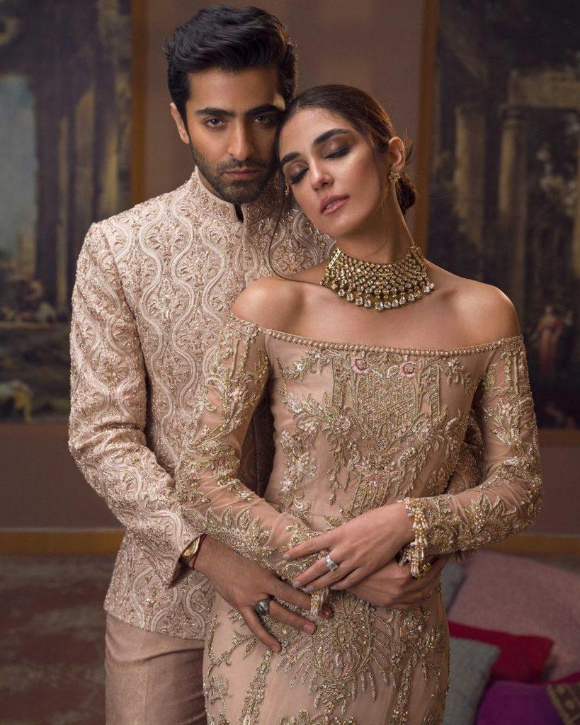 Maya Ali and Sheheryar Munawar Latest Photoshoot - Yar e Man