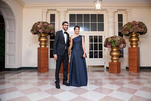 Sundar Pichai Wife | 10 Enrapturing Pictures
