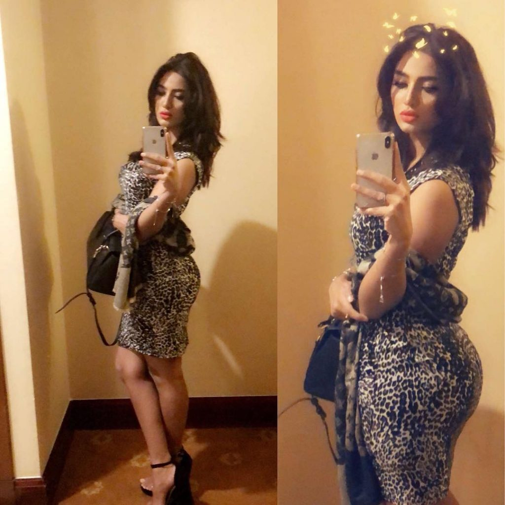 Least Controversial Photos Of Mathira From Her Instagram Account
