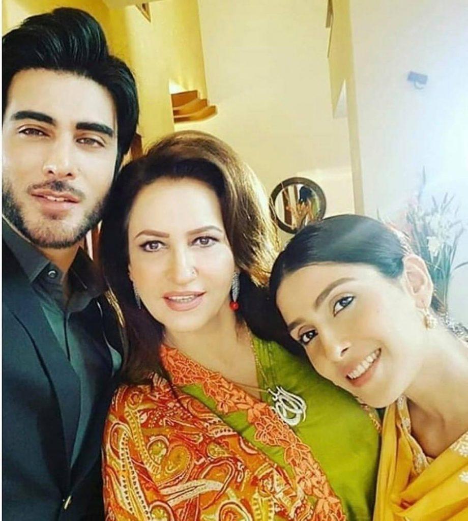 Favorite Co-Stars Of Saba Faisal