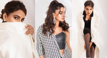 Saba Qamar Warming Up Winter With Her Sizzling Shoot