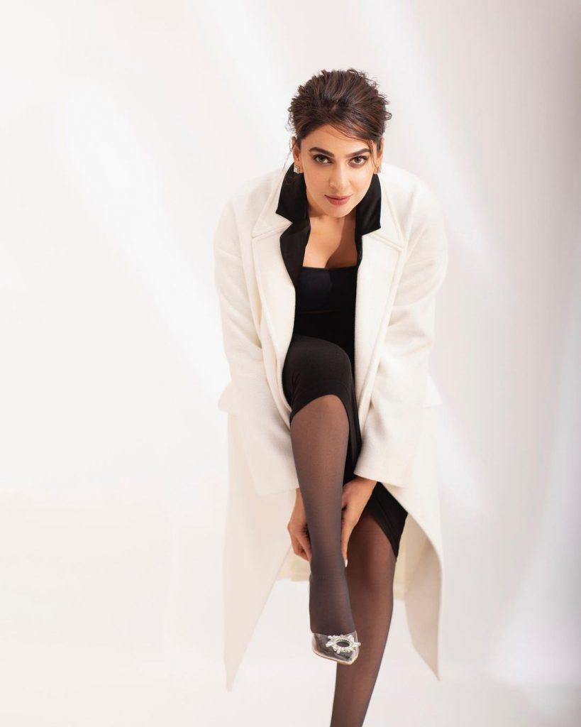Saba Qamar Warming Up Winter With Her Sizzling Shoot