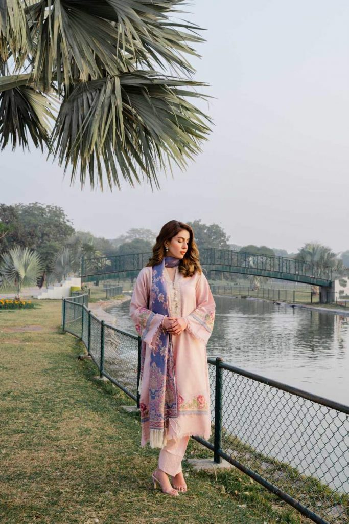 Zarqash Winter Collection 2020 Ft. Sadia Faisal | Pictures And Prices