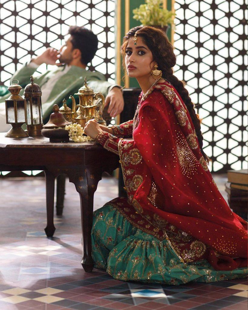 Latest Shoot Of The Adorable Couple Sajal Ali And Ahad Raza Mir