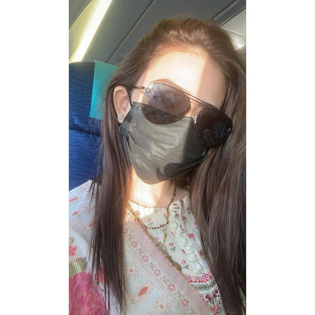 Latest Photos of Sana Javed in Simple Shalwar Kameez