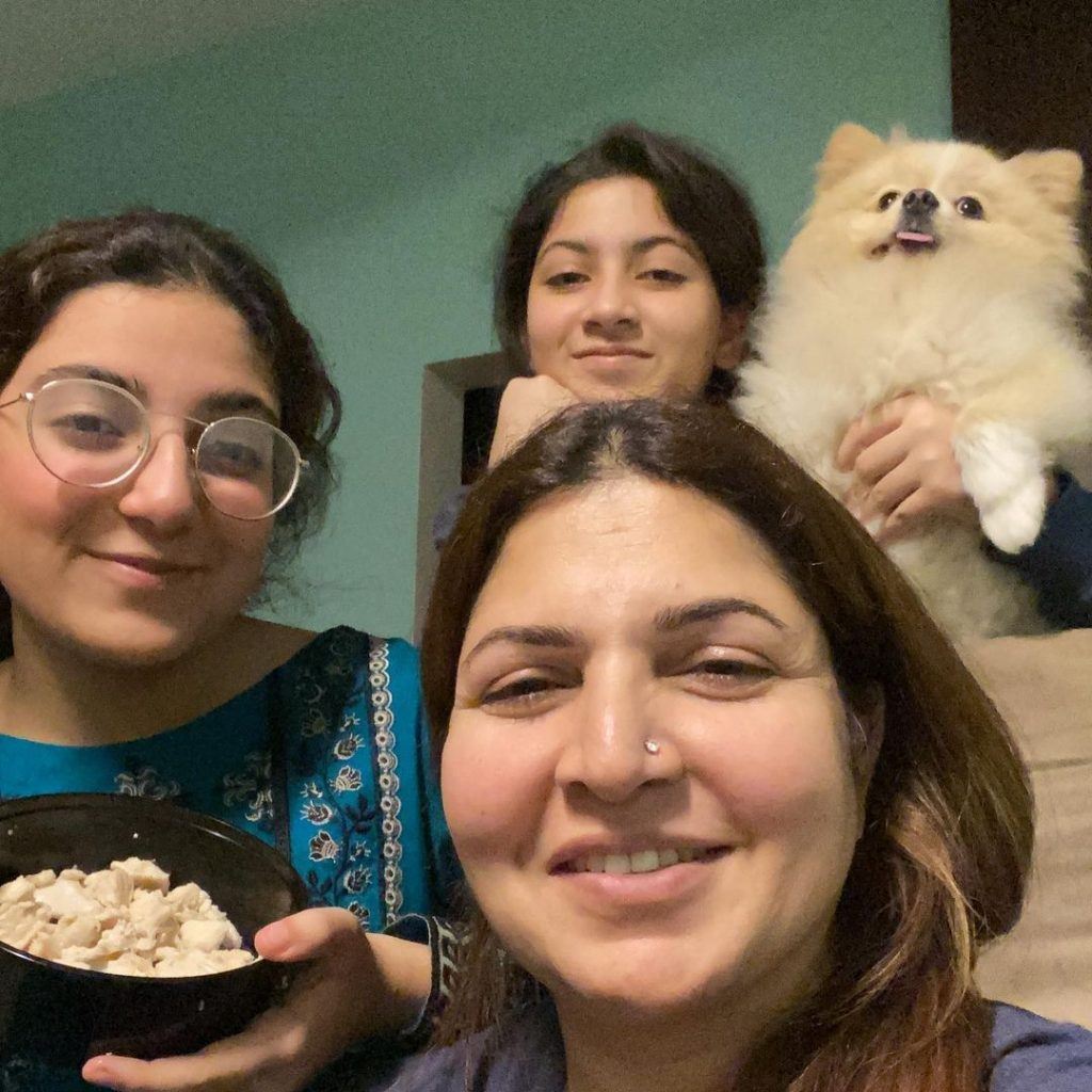Latest Pictures of Shagufta Ejaz With Her Family