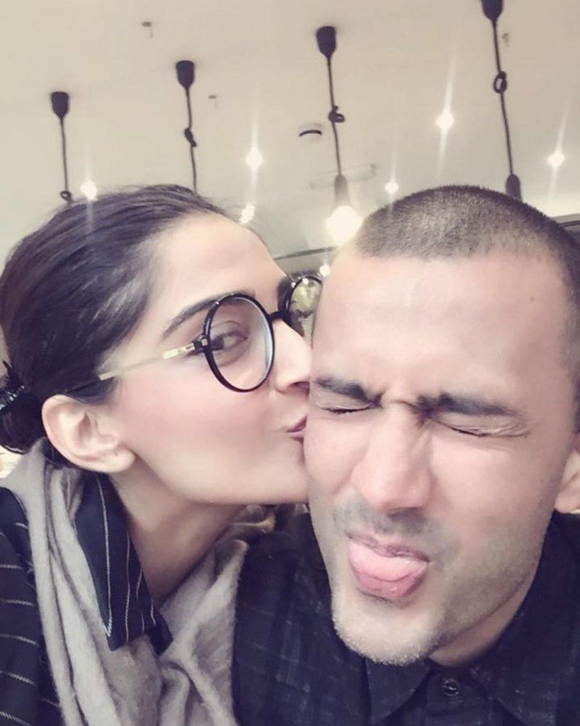 Sonam Kapoor Husband | 10 Romantic Pictures