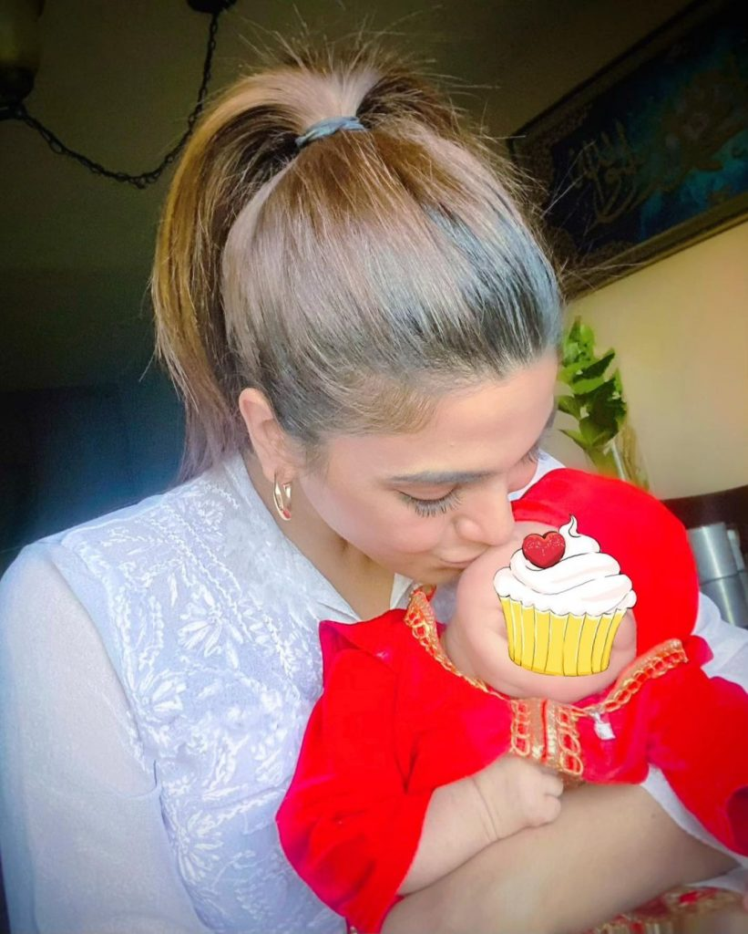 Sonya Hussyn Revels The Reason Of Hiding Her Baby Niece's Face