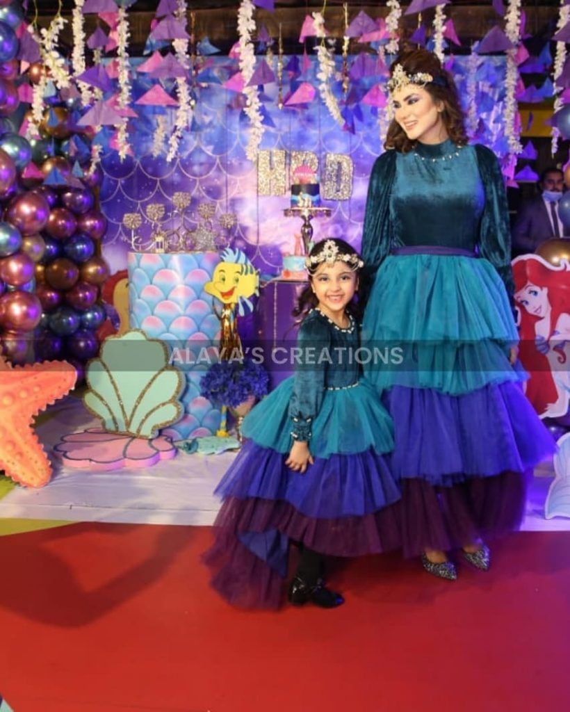 Fiza Ali Throws Birthday Party For Daughter