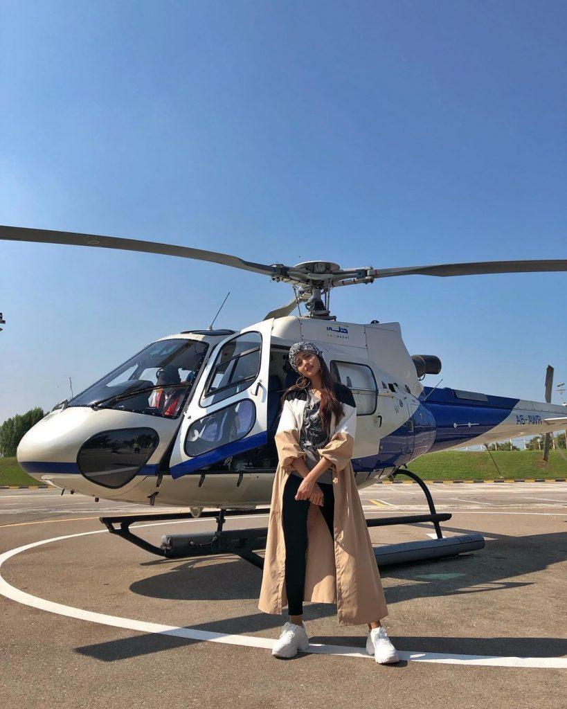 Zarnish Khan Enjoying Holidays In Dubai