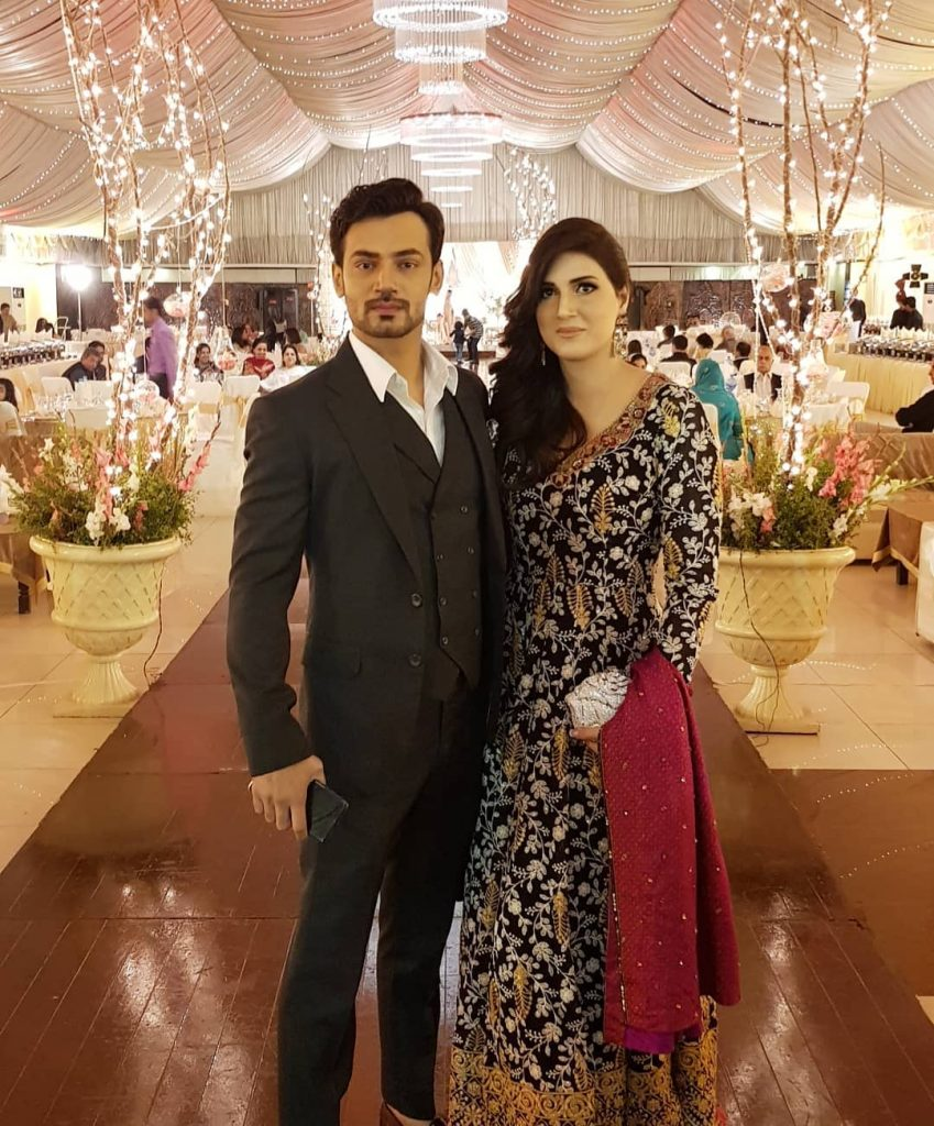 Latest Pictures of Zahid Ahmed With His Wife