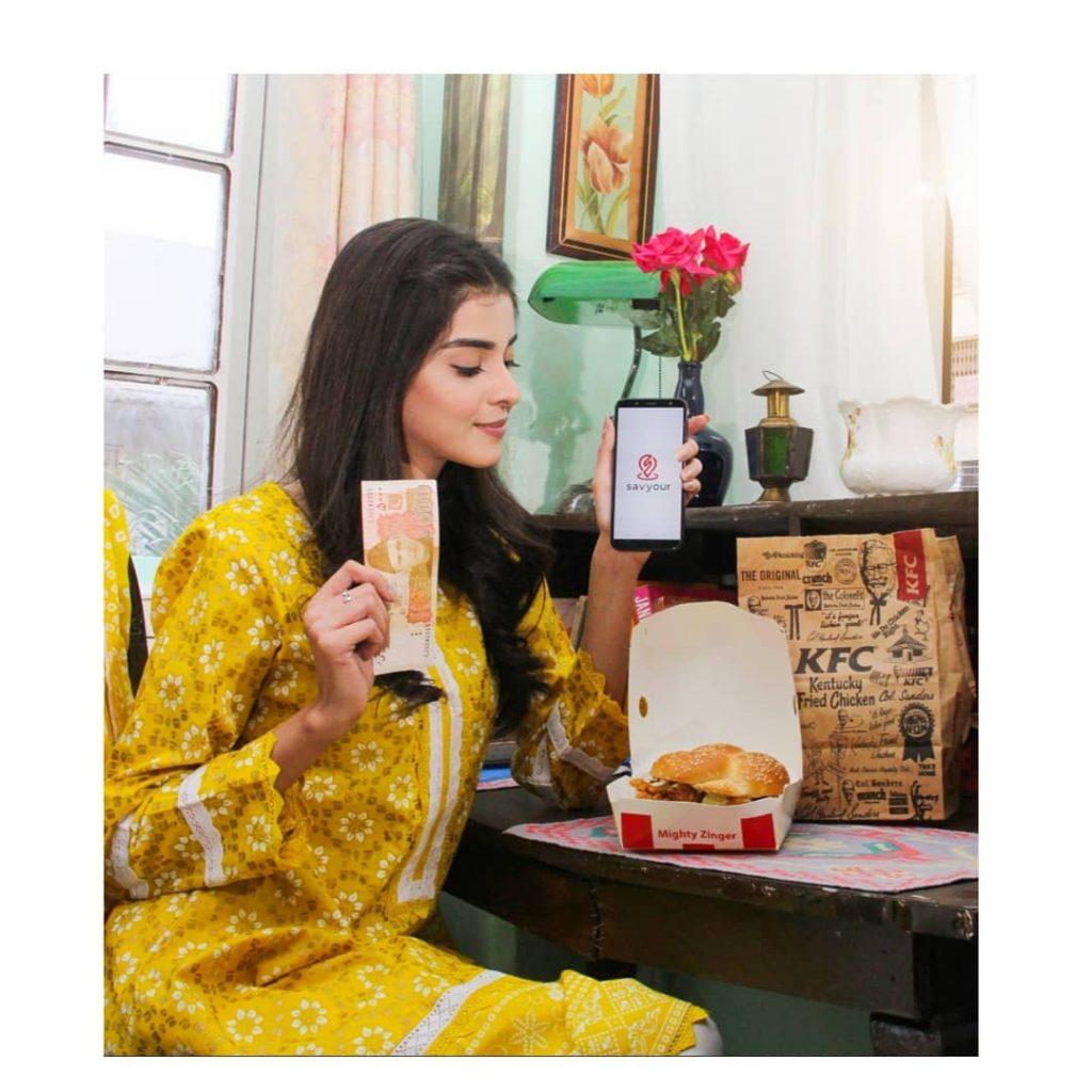 Beautiful Photos of Zainab Shabir In a Yellow Dresses