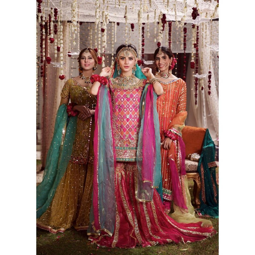 Latest Bridal Shoot Featuring The Stunner Zubab Rana