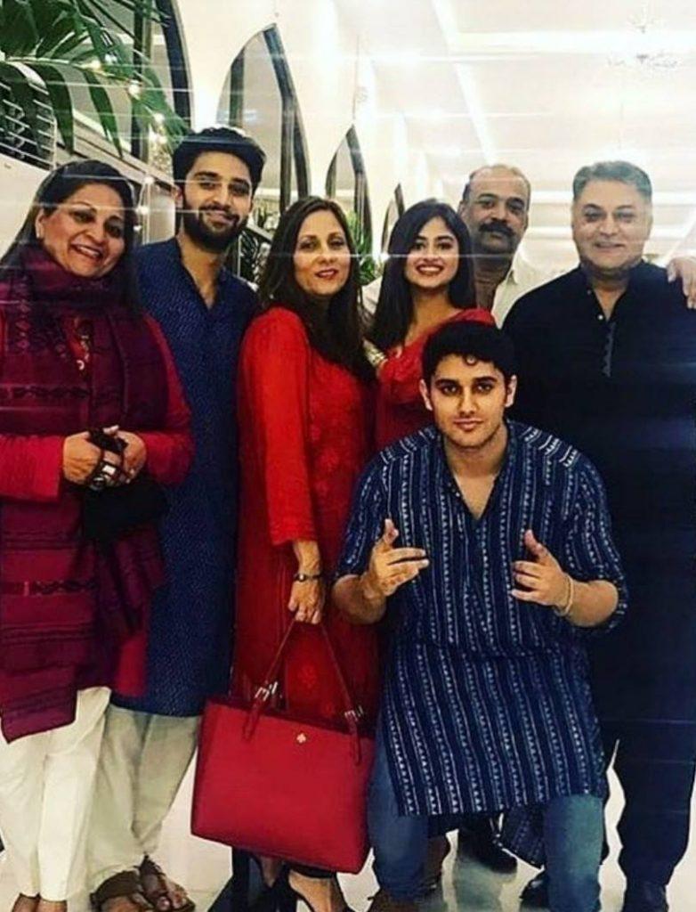 Adorable Photos of Asif Raza Mir and Family