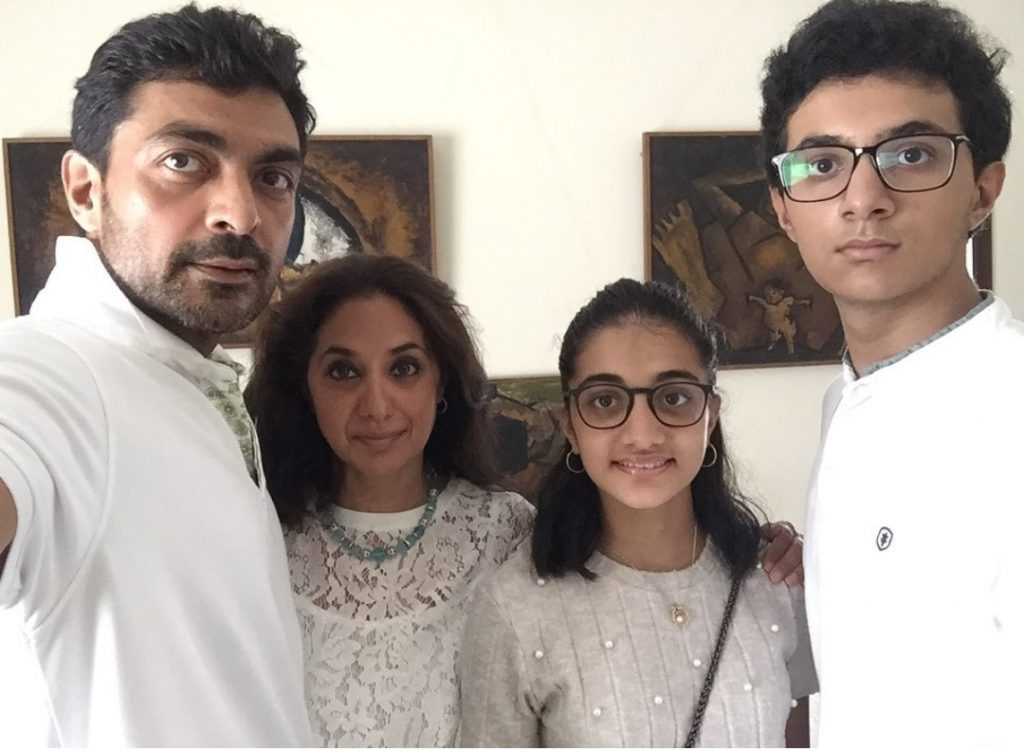 Actor Aly Khan Family Pictures